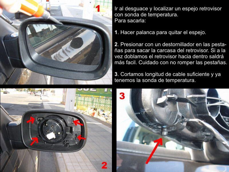 Indicatore temperatura esterna per auto