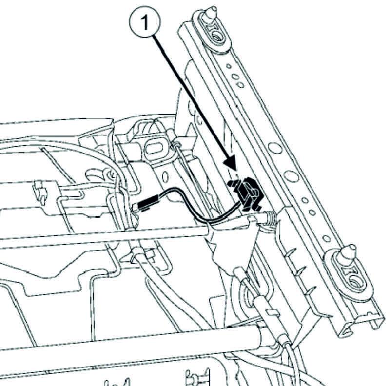 Schema Elettrico Renault Modus : Connettore incognito sotto il sedile